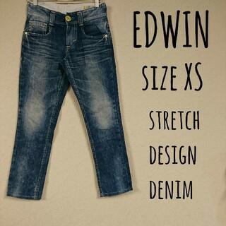 エドウィン(EDWIN)のMiss EDWIN stretch design denim XS(デニム/ジーンズ)