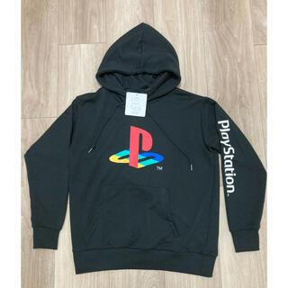 プレイステーション(PlayStation)の新品★ Lサイズ PlayStation プレイステーション パーカー ブラック(パーカー)