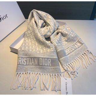 Christian Dior - クリスチャンディオール ク マフラー 大人気 ディオール DIOR マ美品