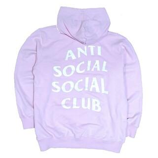 アンチ(ANTI)の【大人気】ANTI SOCIAL SOCIAL CLUB パーカー ピンク(パーカー)