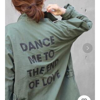 フレームワーク(FRAMeWORK)の☆ THE ACADEMY NEWYORK 別注DANCEジャケット(ミリタリージャケット)