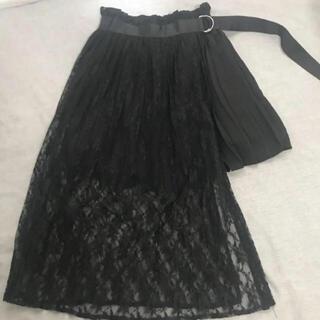 Bubbles - 量産型 ♡ レースプリーツスカート