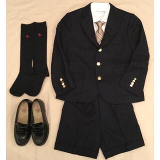 バーバリー(BURBERRY)のバーバリー キッズ スーツ120★キッズ ネクタイ★フォーマル靴20cm +2点(ドレス/フォーマル)