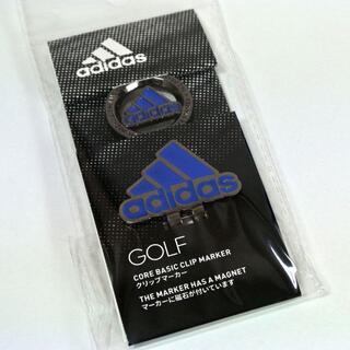 adidas - 【未開封】アディダス ゴルフ クリップマーカー ADM-902 ブルー