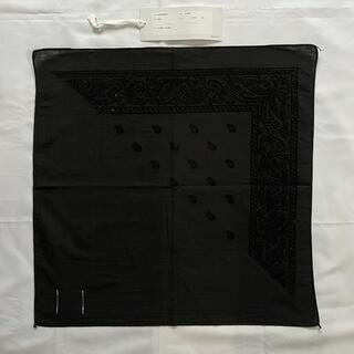 新品 15AW ソロイスト 刺繍 バンダナ soloist(バンダナ/スカーフ)