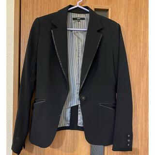 オゾック(OZOC)のジャケット 黒(テーラードジャケット)
