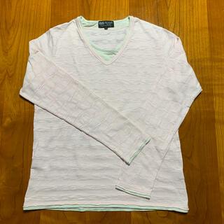 ビームス(BEAMS)のBEAMS Vネックシャツ(Tシャツ/カットソー(七分/長袖))
