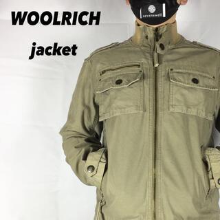 ウールリッチ(WOOLRICH)の古着 WOOLRICH ウールリッチ ミリタリージャケット(ミリタリージャケット)