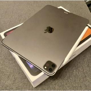 iPad - 保護フィルムケース付!ipad pro 11インチ第2世代128GB  保証有り