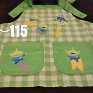 ディズニー(Disney)の子供 キッズエプロン 110 モンスターズインク(お食事エプロン)
