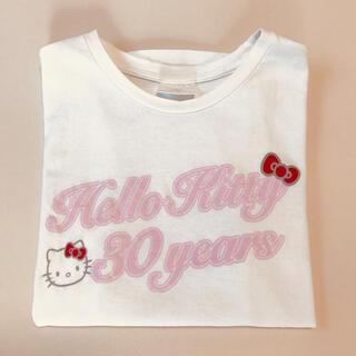 サンリオ - ハローキティー 30周年 Tシャツ サンリオ