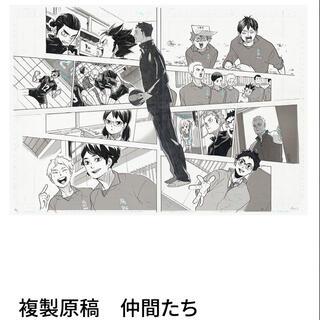 ハイキュー 複製原稿(イラスト集/原画集)