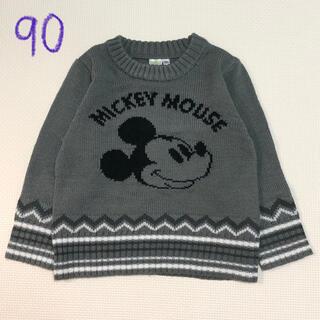 ディズニー(Disney)のミッキー ニット(ニット)