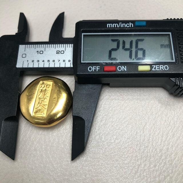 古銭    豆板金 美品 (K62) エンタメ/ホビーの美術品/アンティーク(貨幣)の商品写真