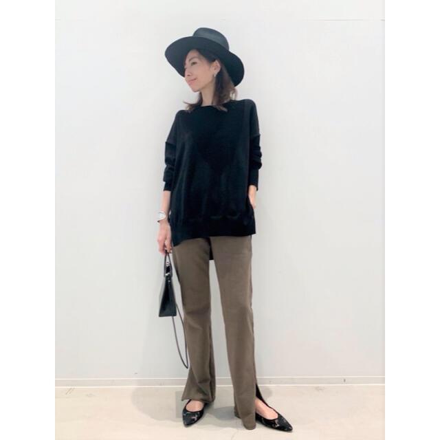 L'Appartement DEUXIEME CLASSE(アパルトモンドゥーズィエムクラス)のL'Appartement side slit knit レディースのトップス(ニット/セーター)の商品写真