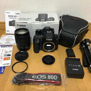 Canon - ★極上美品★CanonEOS 80D EF-S 18-135mm IS USM