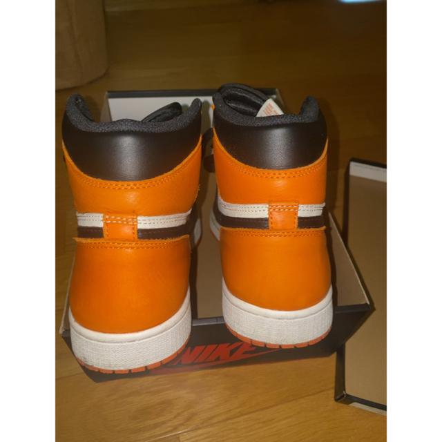 NIKE(ナイキ)のjordan1 Retro Shattered Backboard ジョーダン1 メンズの靴/シューズ(スニーカー)の商品写真