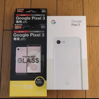 アンドロイド(ANDROID)の【SIMフリー】Google Pixel 3 ホワイト 64GB(スマートフォン本体)