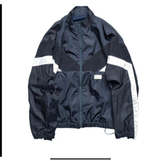SUNSEA - stein  SHIFTED TRACK JACKET