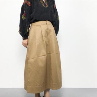 レプシィム(LEPSIM)の【美品】LEPSIM ベージュ カジュアルロングスカート(ロングスカート)