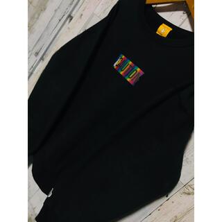 OFF-WHITE - 渋谷虹色注意FR2スウェット XLARGE ASSC ブラックブレイン PDK