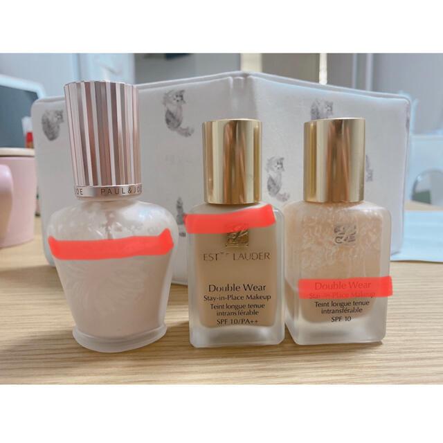 Estee Lauder(エスティローダー)のエスティローダー リキッドファンデ ポール&ジョー 化粧下地 コスメ/美容のベースメイク/化粧品(ファンデーション)の商品写真
