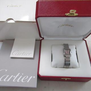 Cartier - カルティエ タンク フランセーズ 腕時計 ピンクシェル文字盤