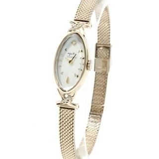 アガット(agete)のアガットオーバルフェイス腕時計(腕時計)