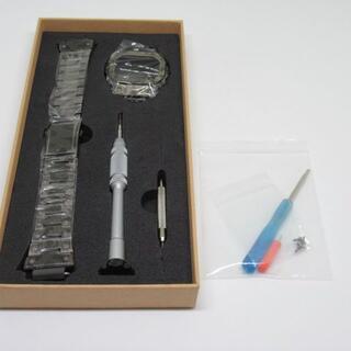 DW5600E  用フルメタルベゼルベルトセット カモフラ(金属ベルト)
