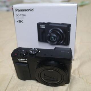 Panasonic - デジカメ LUMIX DC-TZ90 保護フィルム付き