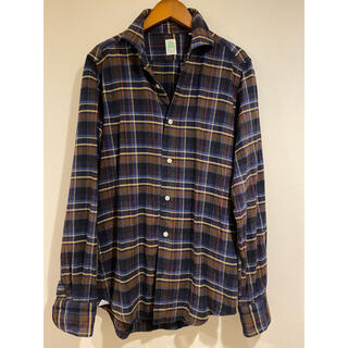 フィナモレ(FINAMORE)のfinamore フィナモレ メンズシャツ サイズS(シャツ)
