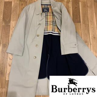 バーバリー(BURBERRY)のバーバリーズ Burberrys 90's ノバチェック ステンカラーコート(ステンカラーコート)