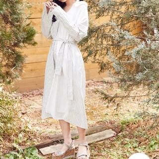 スパイラルガール(SPIRAL GIRL)の新品スパイラルガール  ホルター3wayシャツワンピース(ひざ丈ワンピース)