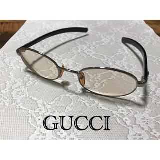Gucci - GUCCI★グッチ 眼鏡 メガネ 度入り サングラス ブラウン メガネフレーム