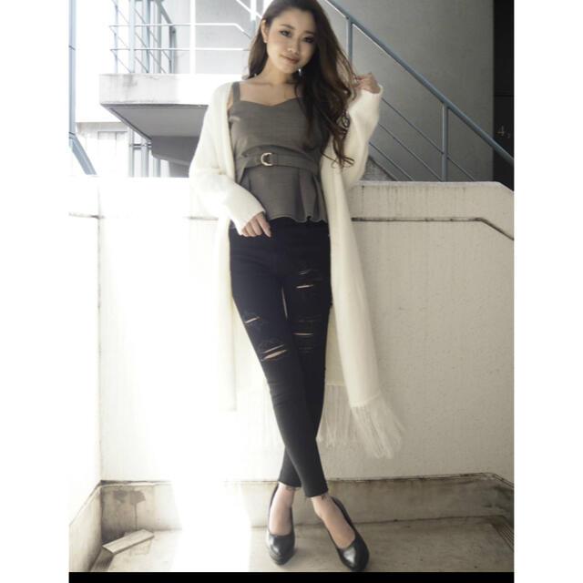 RESEXXY(リゼクシー)の人気商品リゼクシー フリンジカーデ♡ レディースのジャケット/アウター(ロングコート)の商品写真