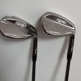 ホンマゴルフ(本間ゴルフ)の名器 ホンマ tw-w フォージドウェッジ 52 58セット modus125s(クラブ)