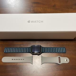 Apple Watch - 極美品 Apple Watch Series 6 40mm チタニウムケース