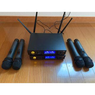 全体メタル!!!品質!! UHF!!!ロケットオーディオE220 2個セット(マイク)