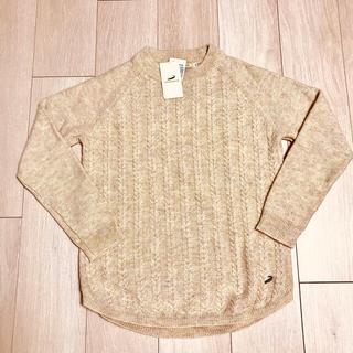 クロコダイル(Crocodile)のぱんぱんさんへ。オフホワイト セーター 新品未使用タグ付き(ニット/セーター)