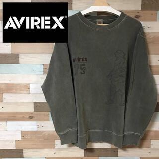 アヴィレックス(AVIREX)のAVIREX スウェット トレーナー XL(スウェット)