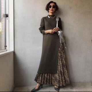 アメリヴィンテージ(Ameri VINTAGE)のameri vintage Python pleats skirt(ロングスカート)