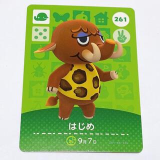 ニンテンドウ(任天堂)のどうぶつの森 はじめ 261 amiiboカード(その他)
