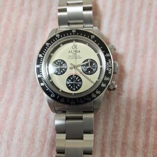 alpha - アルファ社製アナログ腕時計