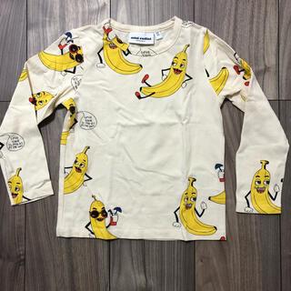 コドモビームス(こども ビームス)のmini rodini ミニロディーニ バナナ柄ロンT(Tシャツ/カットソー)