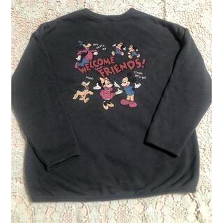 フタフタ(futafuta)のレトロミッキー  バースデイ フタフタ 110 ディズニー futafuta(Tシャツ/カットソー)
