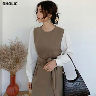 dholic - DHOLIC ディーホリック ロングワンピース