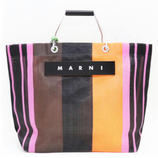 Marni - MARNI ストライプバック ピンク