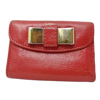 クロエ(Chloe)の☆特別価格☆ Chloe クロエ 財布 折り財布 コンパクト(財布)