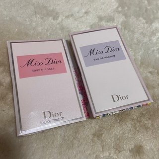 ディオール(Dior)のDior オードゥトワレ 試供品 サンプル(香水(女性用))