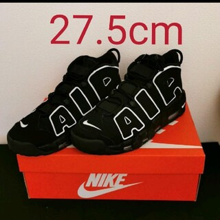 ナイキ(NIKE)の【27.5cm】Nike Air More Uptempo Black(スニーカー)